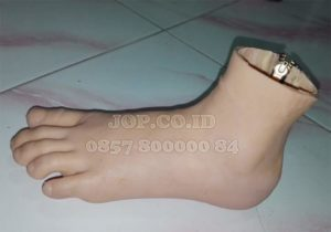 kaki palsu silikon